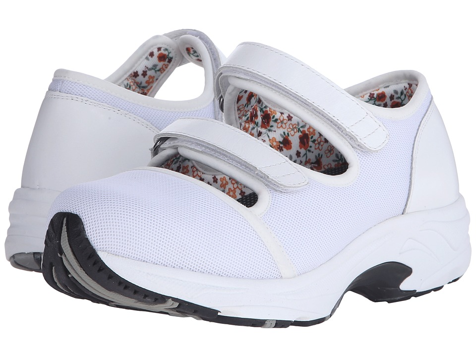 Drew - Solo (White Sport Mesh) Women's Hook and Loop Shoes