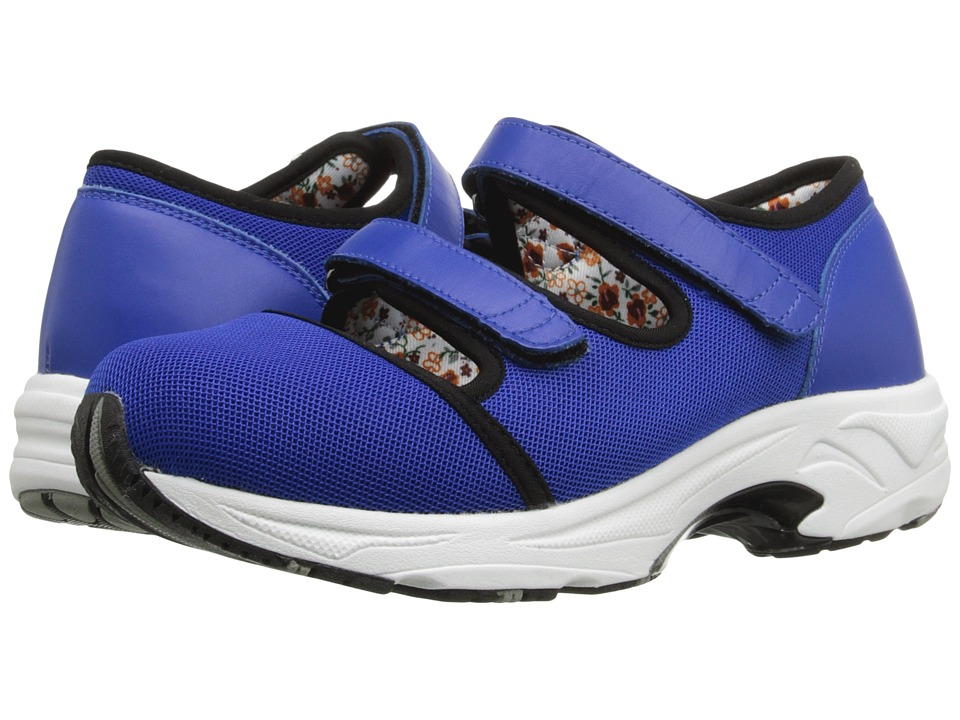 Drew - Solo (Royal Blue Sport Mesh) Women's Hook and Loop Shoes