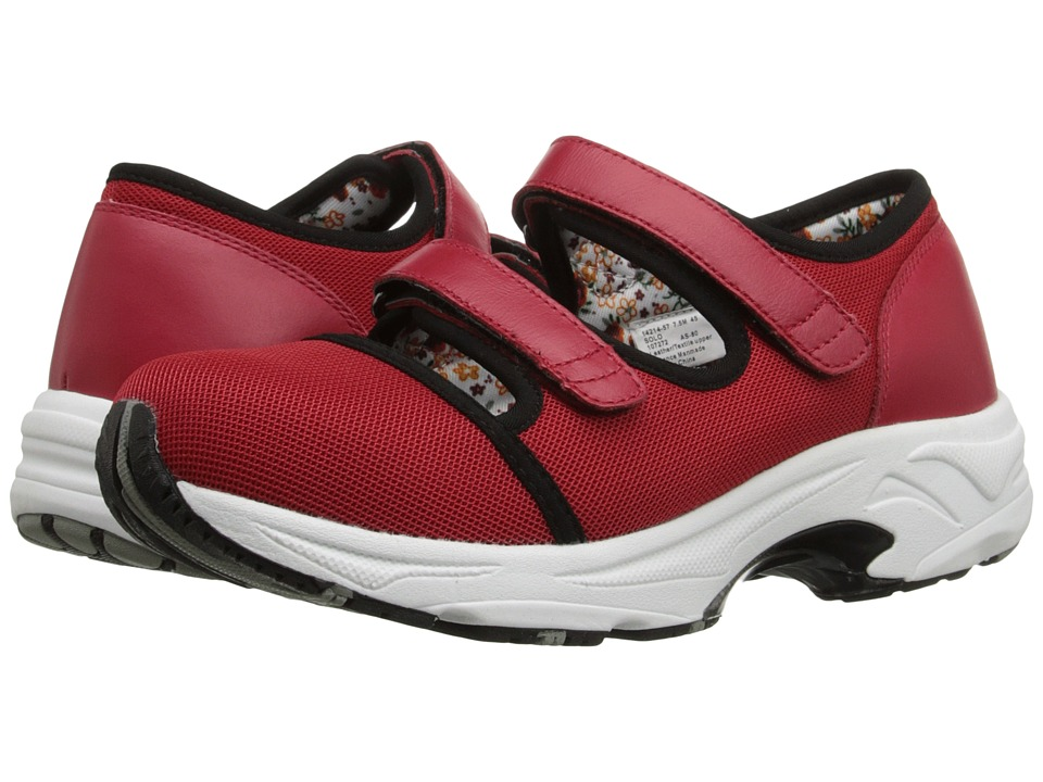 Drew - Solo (Red Sport Mesh) Women's Hook and Loop Shoes