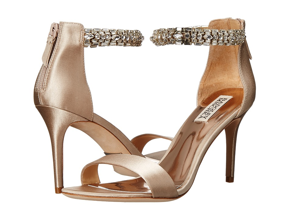 Badgley Mischka - Carlotta (Nude Satin) Women's Shoes