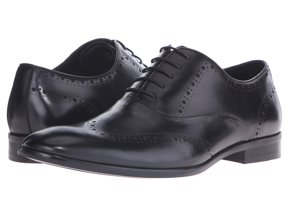 Dune London - Reegal (Black Leather) Men's Shoes