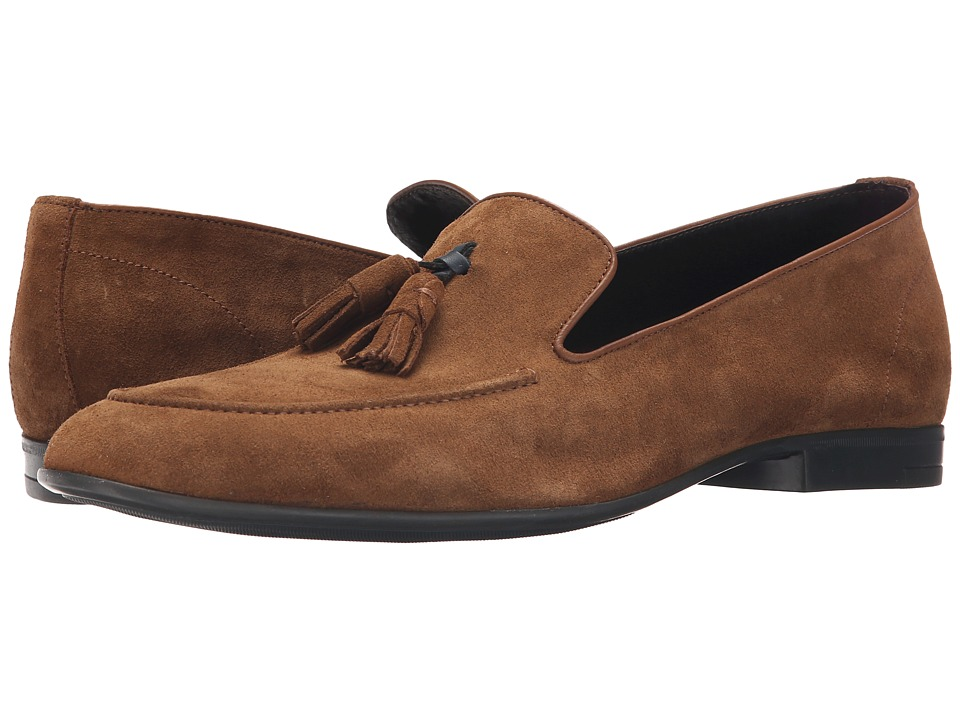 Dune London - Remy (Tan Suede) Men's Slip on Shoes