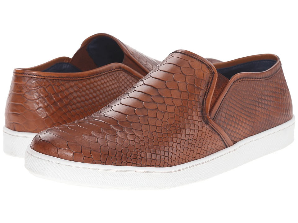 Dune London - Tomkins (Tan Leather) Men's Slip on Shoes