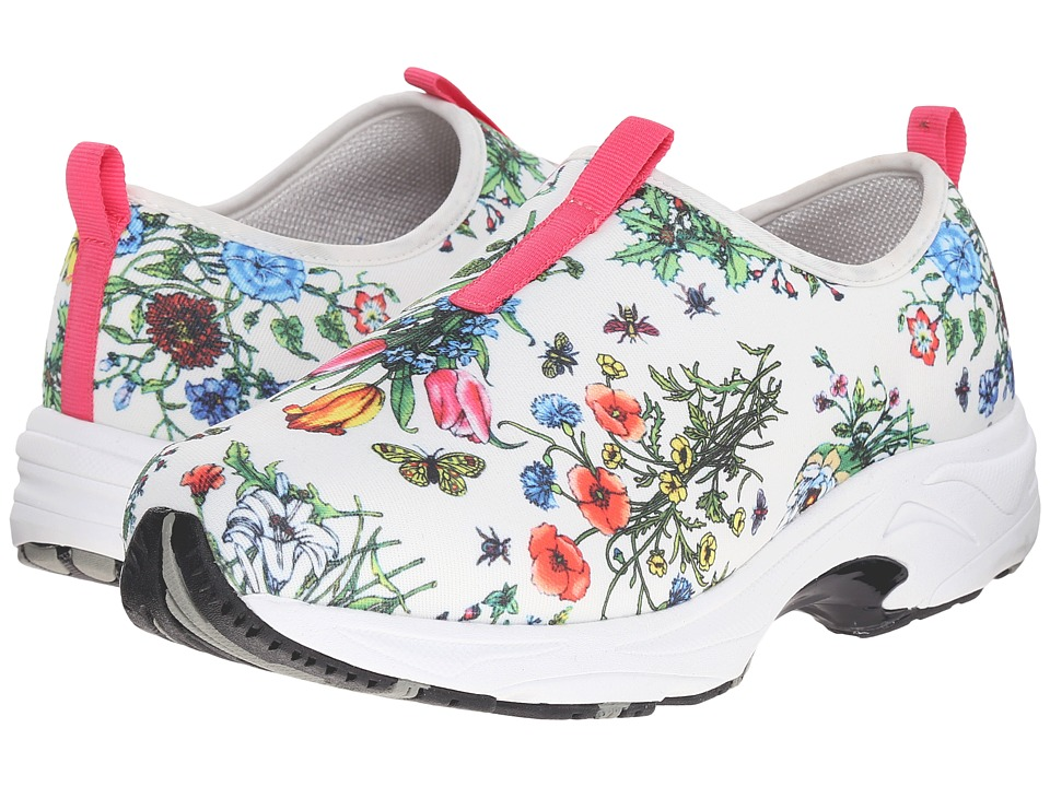 Drew - Blast (Floral Multi Stretch Fabric) Women's Slip on Shoes