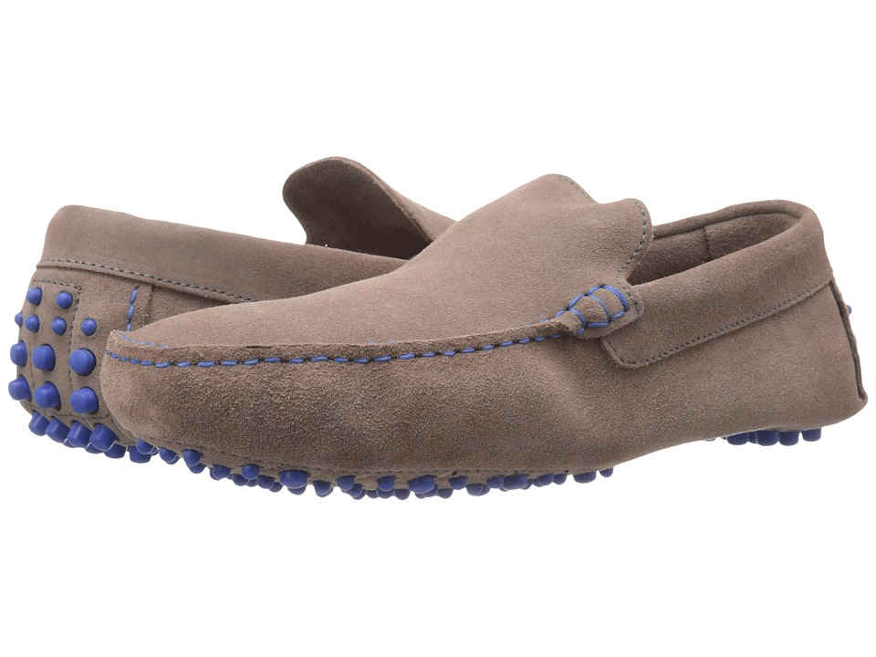 Dune London - Bermuda (Grey Suede) Men's Slip on Shoes