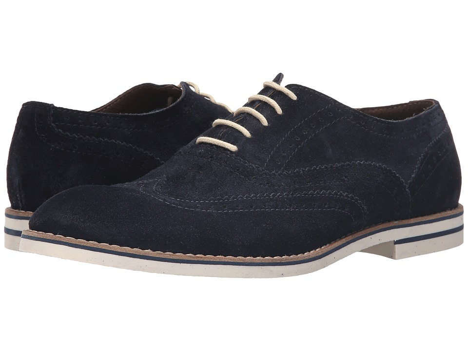 Dune London - Beattie (Navy Suede) Men's Lace up casual Shoes