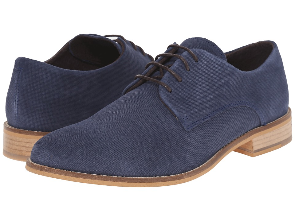 Dune London Bambino (Navy Suede) Men