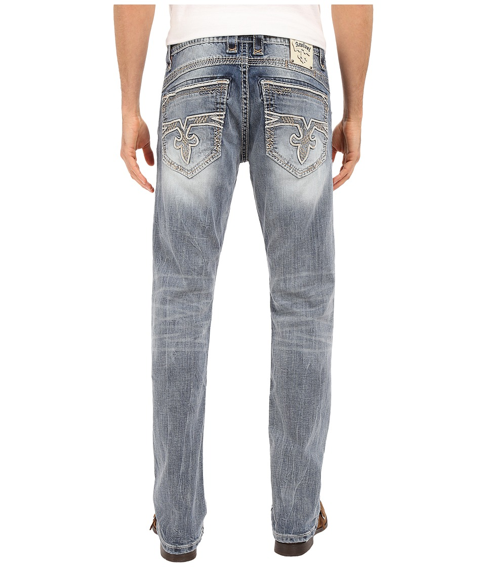 Rock Revival - Mikel J Straight Leg (Medium Blue) Men's Jeans
