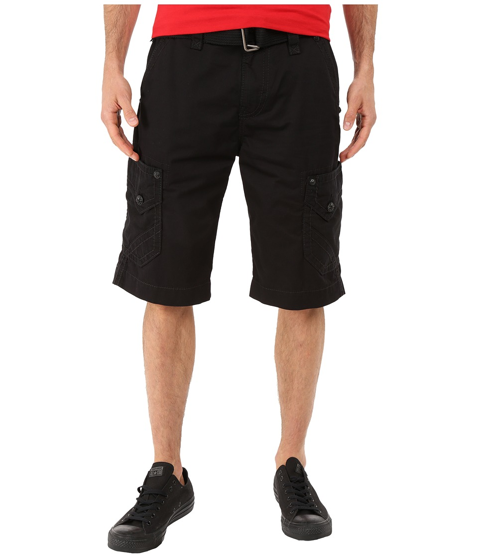 Rock Revival - Cargo Shorts (Black) Men's Shorts