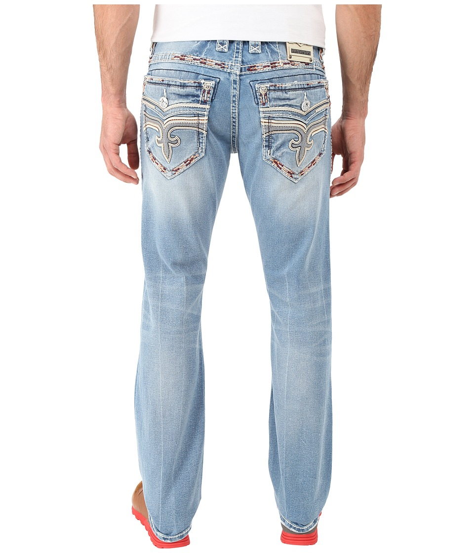Rock Revival - Rumo J200 Straight Leg (Blue) Men's Jeans