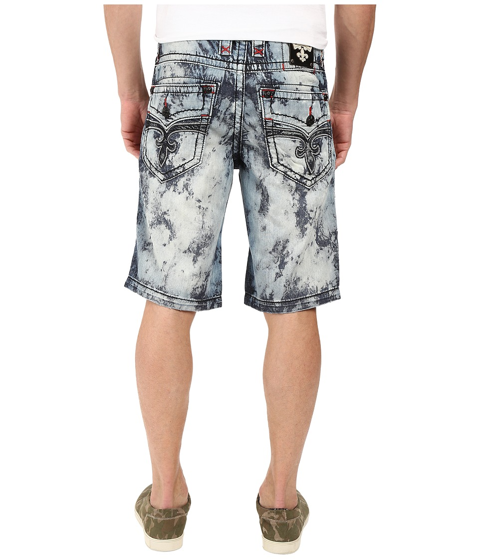 Rock Revival - Shorts (Tie-Dye Light Blue) Men's Shorts