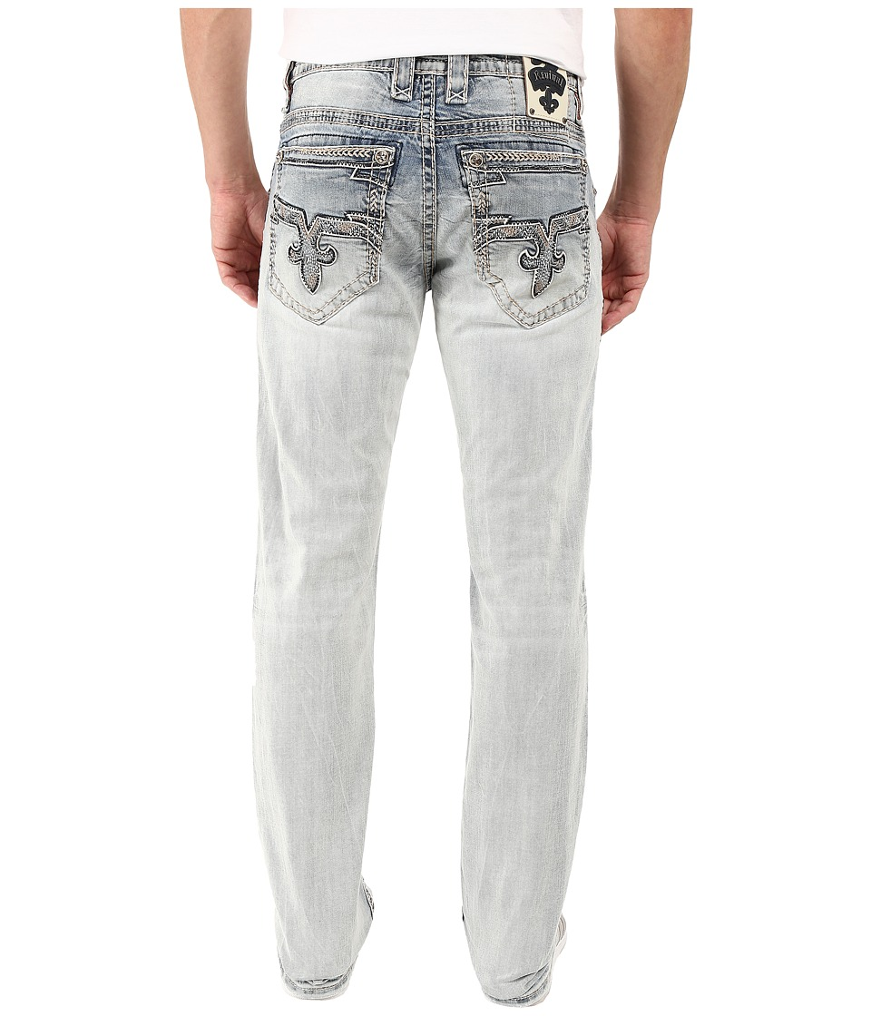 Rock Revival - Bazel J Straight Leg (Light Blue) Men's Jeans