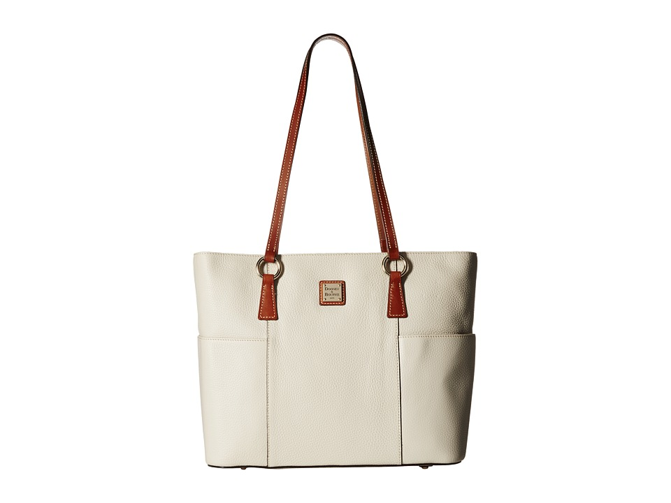 Dooney & Bourke - Pebble Helena Shopper (Bone) Tote Handbags