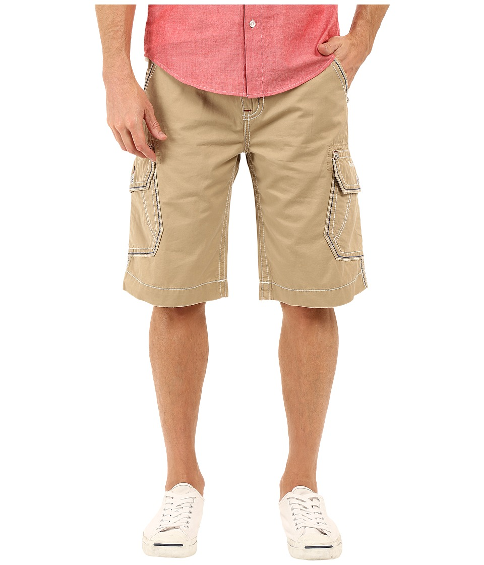 Rock Revival - Cargo Shorts (Khaki) Men's Shorts