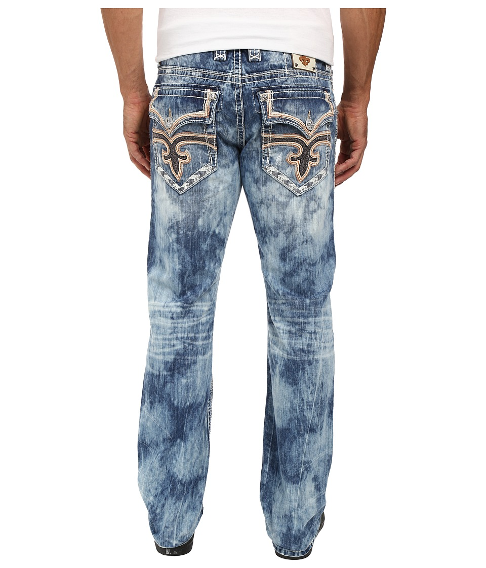 Rock Revival - Willis J204 Straight Leg (Dark Blue) Men's Jeans