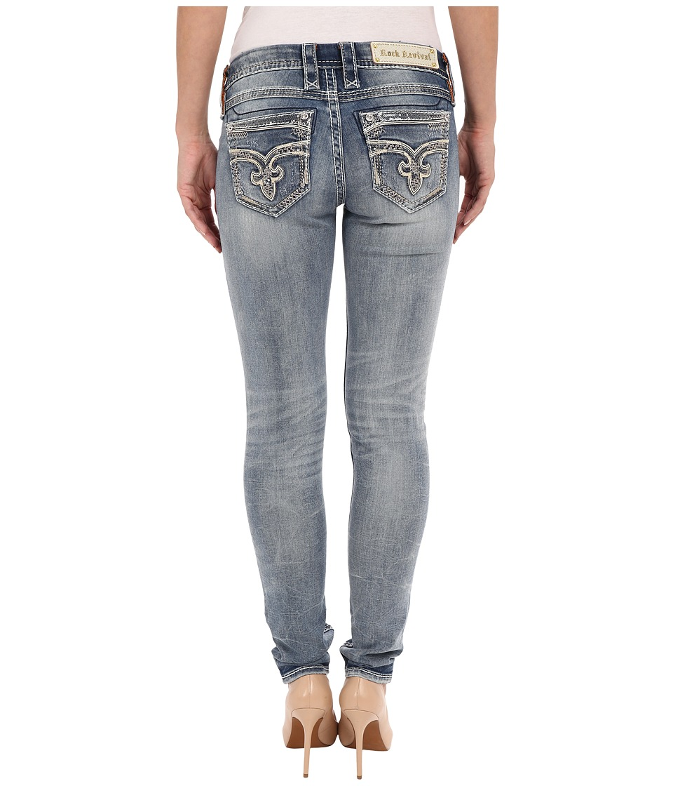 Rock Revival - Jaylyn S204 Skinny (Medium Blue) Women's Jeans
