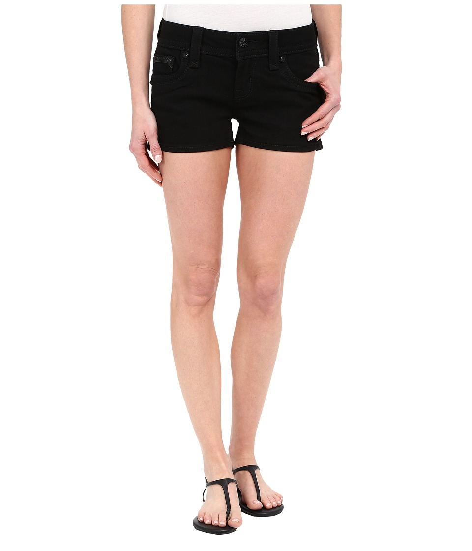 Rock Revival - Celine H85 Shorts (Black) Women's Shorts