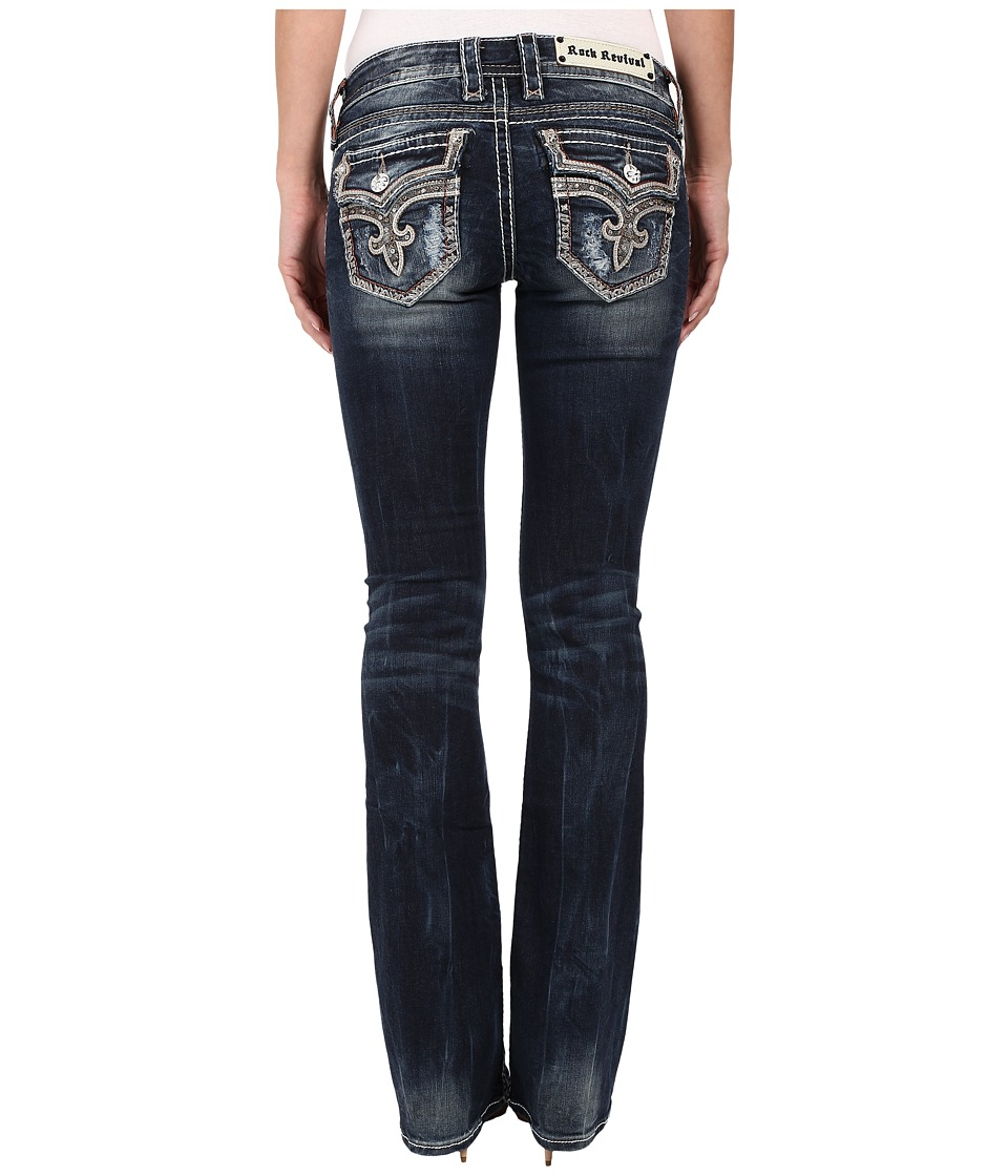 Rock Revival - Tibbie B2 Boot (Dark Blue) Women's Jeans