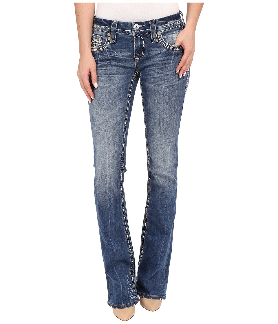 Rock Revival - Cai B205 Boot (Medium Blue) Women's Jeans