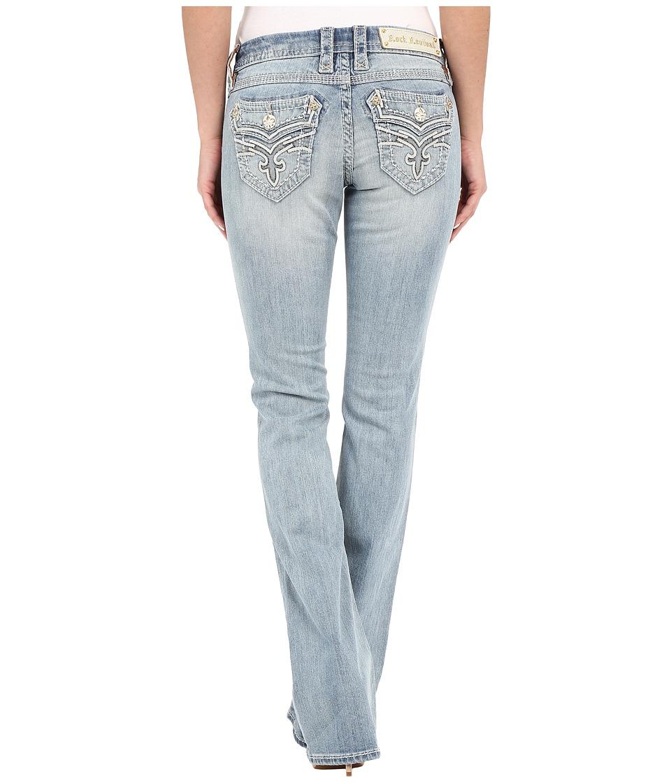 Rock Revival - Lupita B405 Boot (Light Blue) Women's Jeans