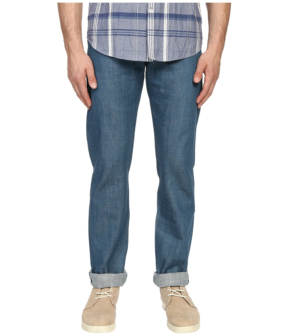 Naked & Famous - Weird Guy 12oz Vintagecast Broken Twill Selvedge Denim (Vintage Blue) Men's Jeans