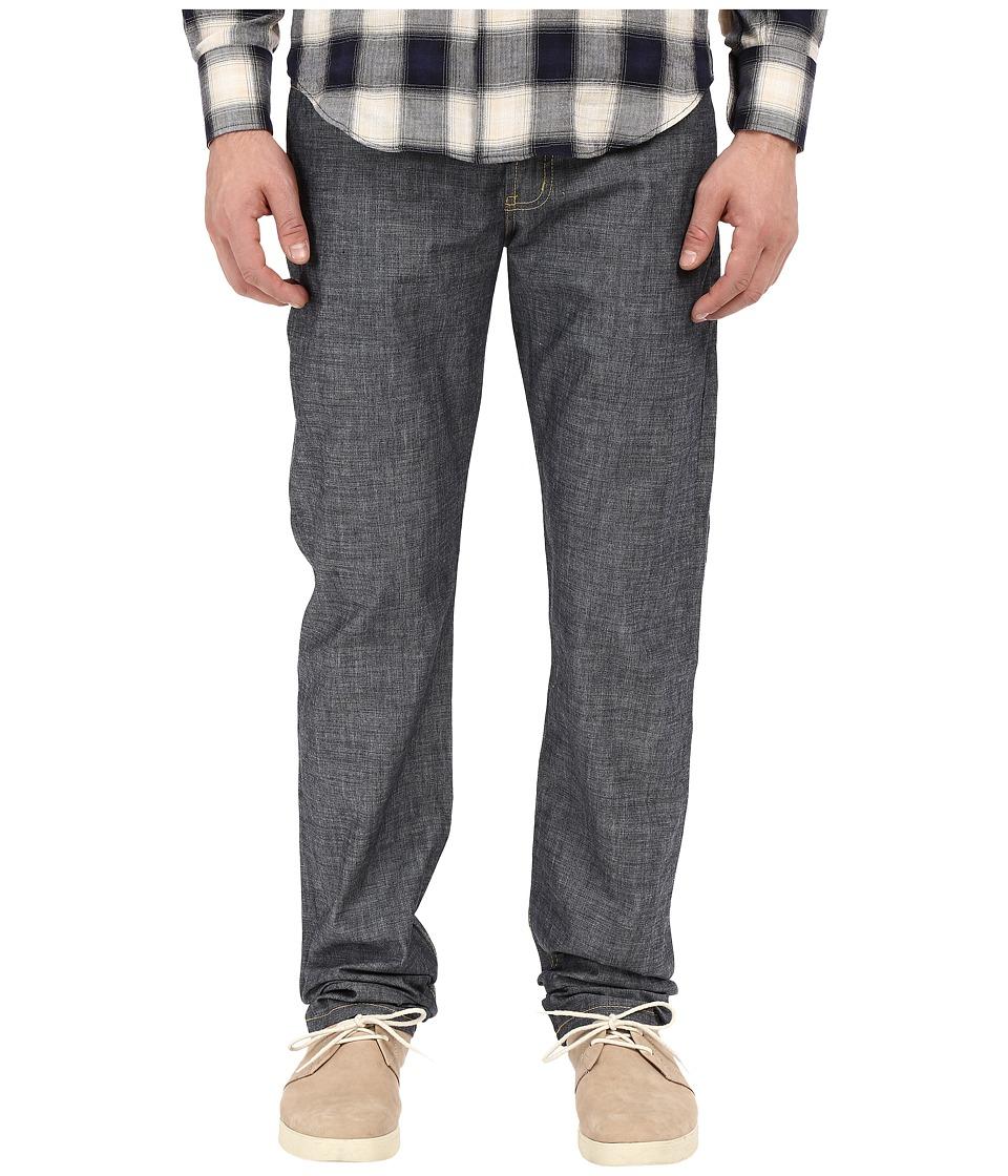 Naked & Famous - Weird Guy 5oz Indigo Chambray Selvedge Denim (Indigo Chambray) Men's Jeans