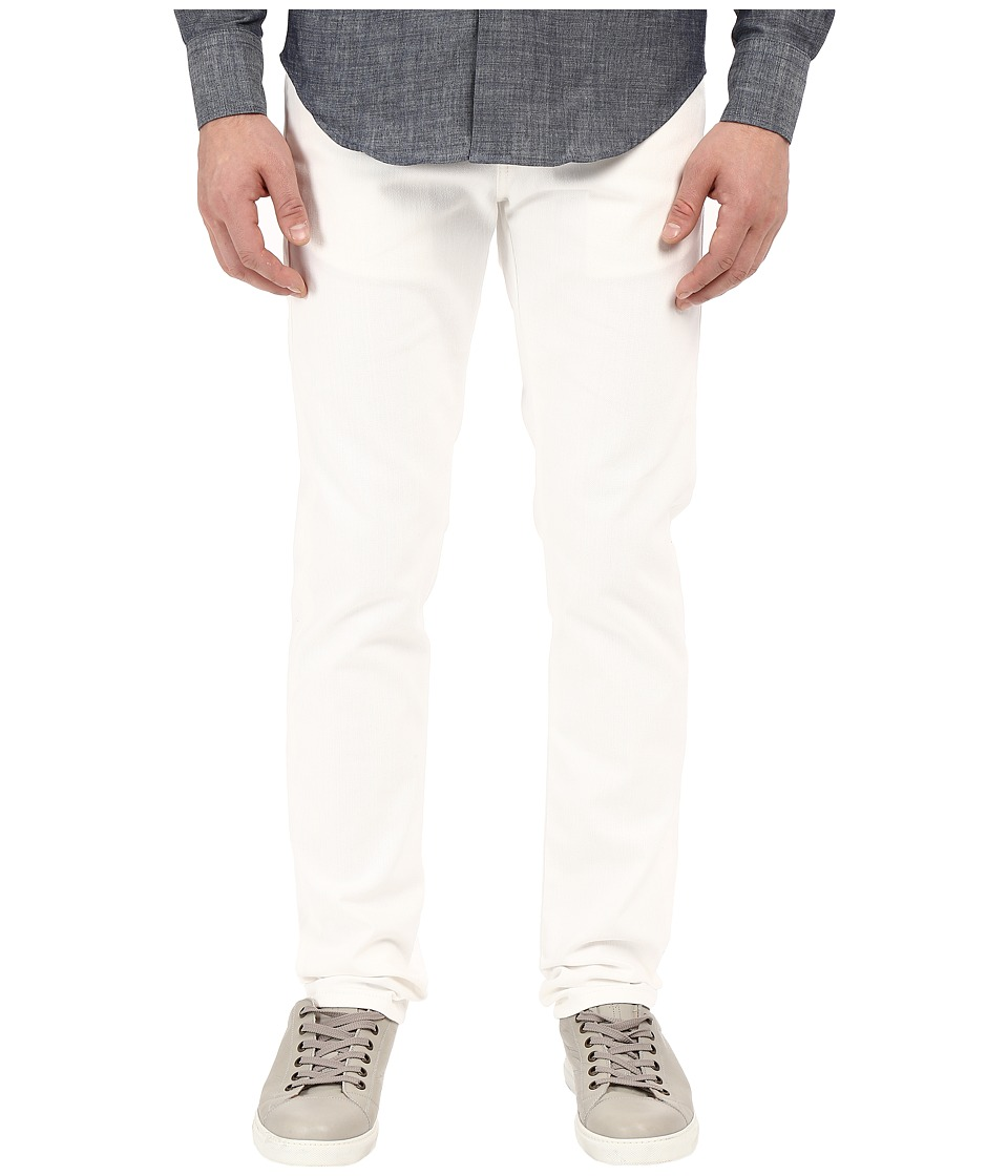 Naked & Famous - Super Skinny Guy 11oz White Stretch Selvedge Denim (White) Men's Jeans