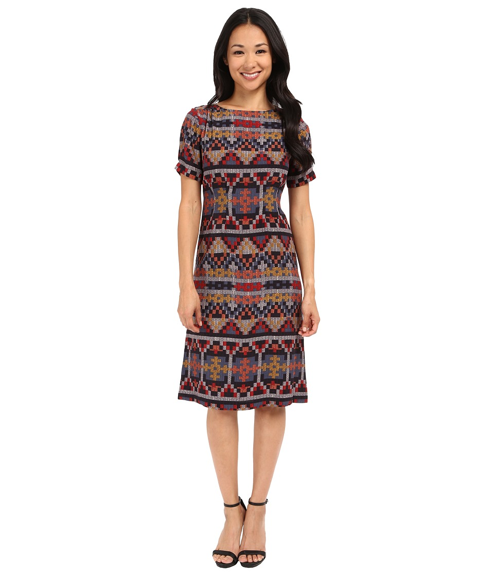 Pendleton - Petite Stella Dress (Multi Print) Women