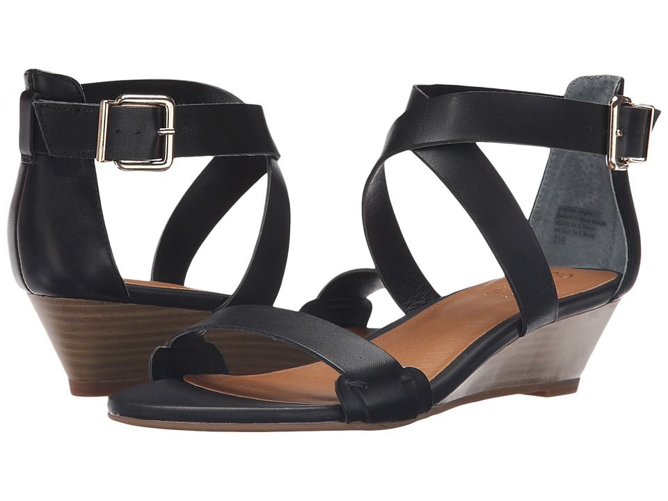 Seychelles - Inspect (Black) Women's Sandals