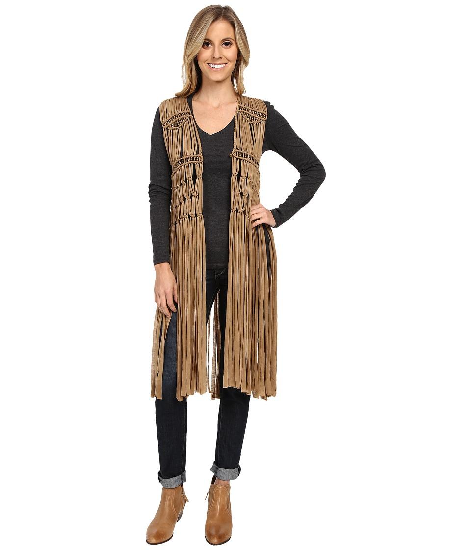 Scully - Funky Vest (Beige) Women's Vest