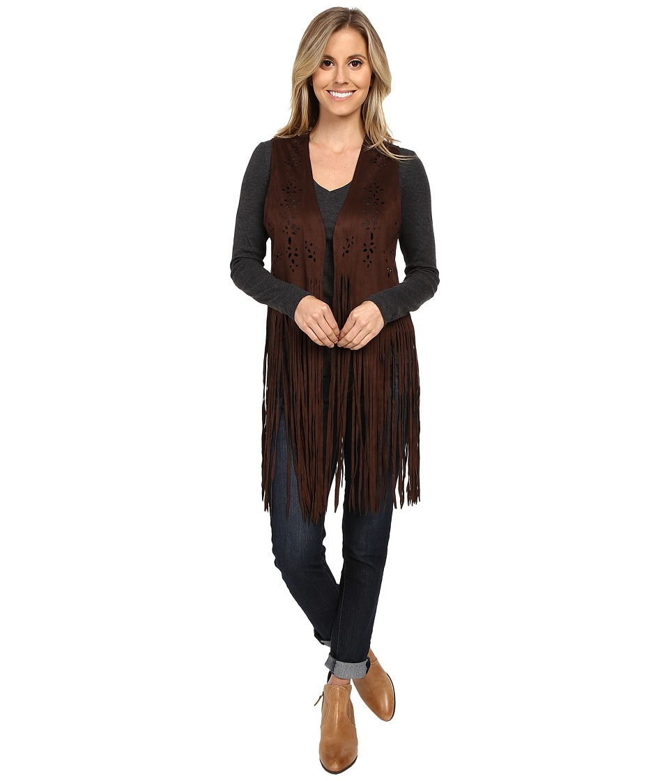 Scully - Abbey Funky Vest (Chocolate) Women's Vest
