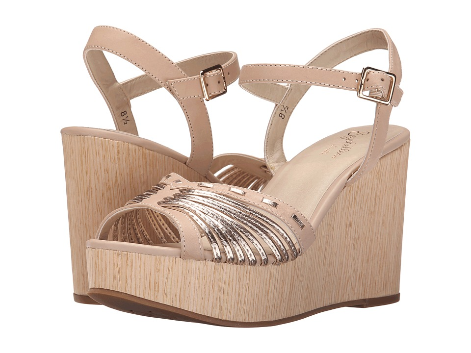 Seychelles - Mind (Nude/Rose Gold) Women's Wedge Shoes