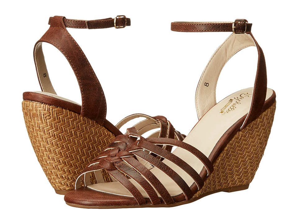 Seychelles - Top Notch (Whiskey) Women's Wedge Shoes