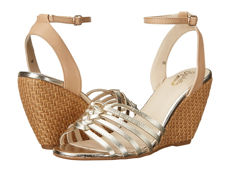 Seychelles - Top Notch (Platinum) Women's Wedge Shoes