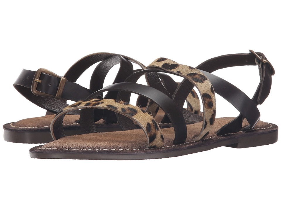 Seychelles - Onward (Brown/Leopard) Women's Sandals