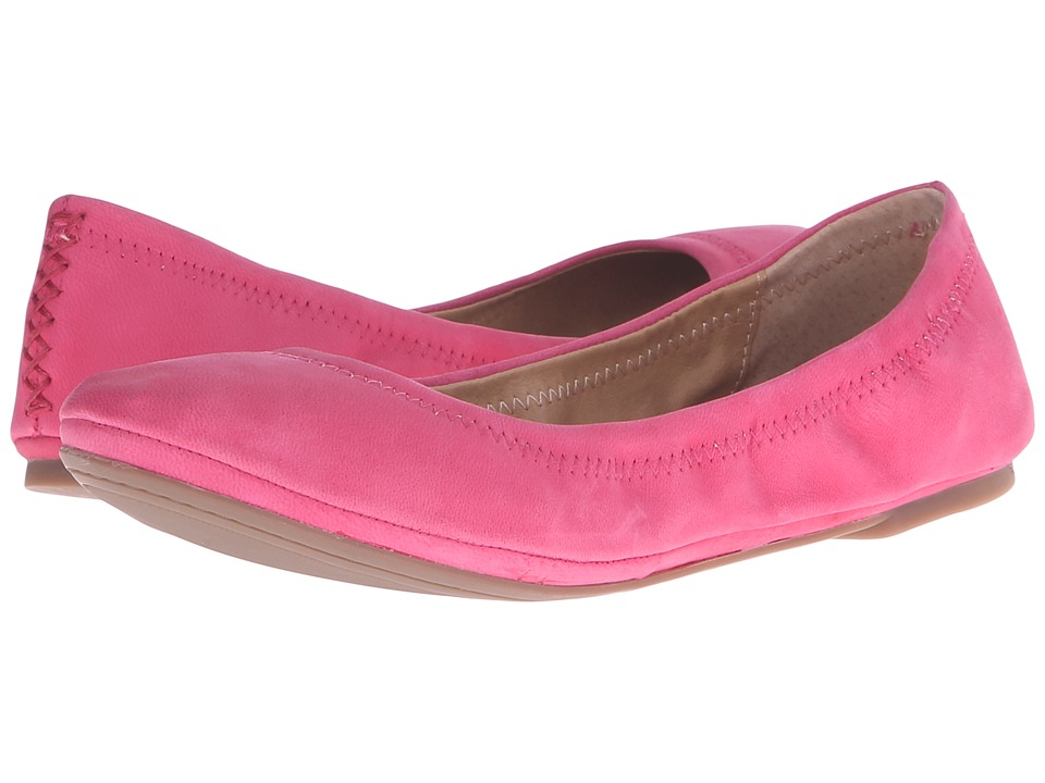 Lucky Brand - Emmie (Raspberry) Women's Flat Shoes
