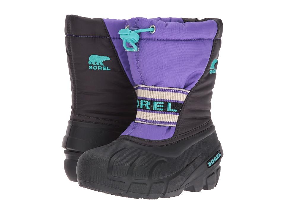 SOREL Kids - Cub (Toddler/Little Kid/Big Kid) (Purple Arrow/Shark) Girls Shoes