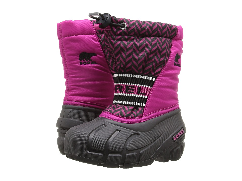SOREL Kids - Cub Graphic 15 (Toddler/Little Kid/Big Kid) (Haute Pink/Shark) Girls Shoes