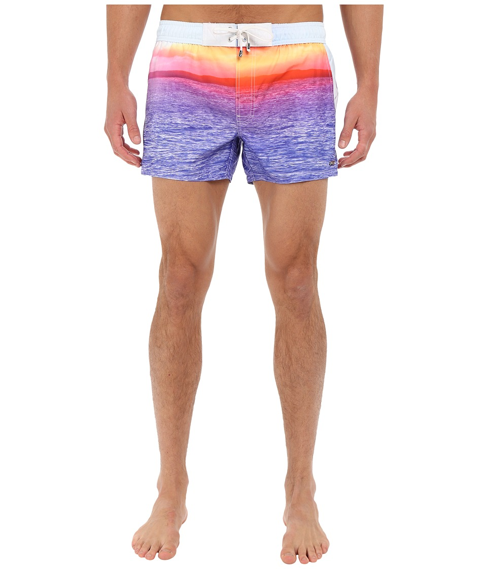 2(X)IST - Photo Real Ibiza (Sunset Print) Men's Swimwear