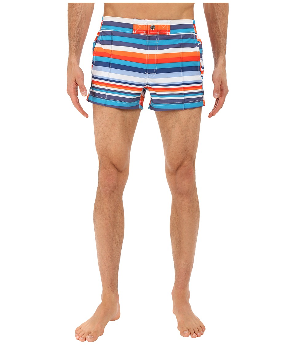 2(X)IST - Yacht (Tiki Stripe/Orange.com) Men's Swimwear