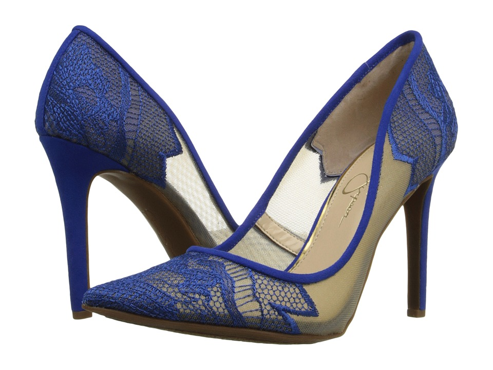 Jessica Simpson Camba (Sheer Cobalt Blue) High Heels