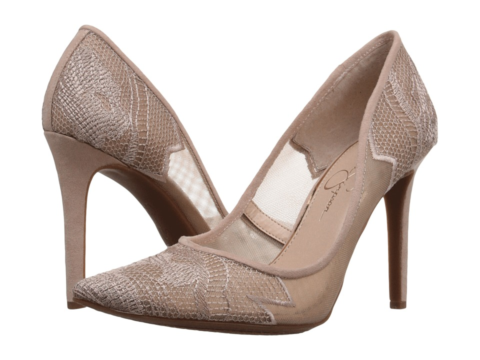 Jessica Simpson Camba (Sheer Nude Blush) High Heels