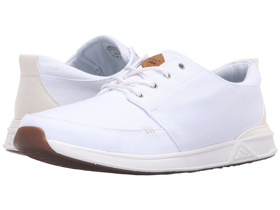 Reef - Rover Low (White) Men's Lace up casual Shoes