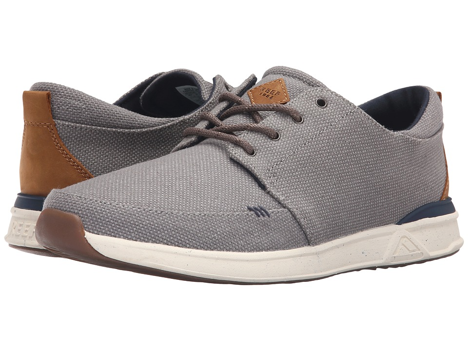 Reef - Rover Low TX (Grey/Gum) Men's Shoes