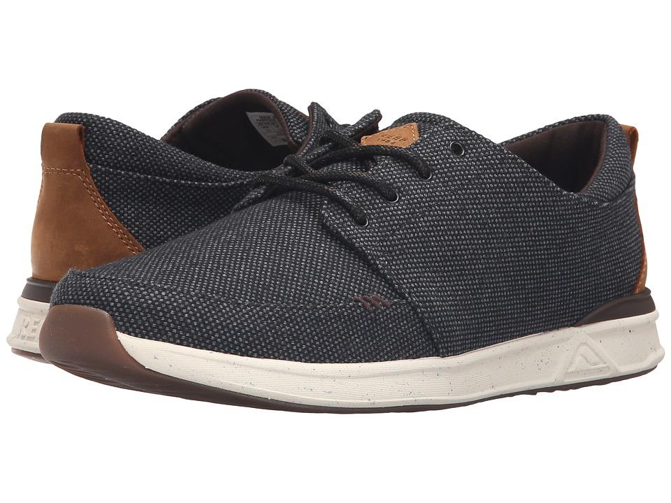 Reef - Rover Low TX (Black/Gum) Men's Shoes