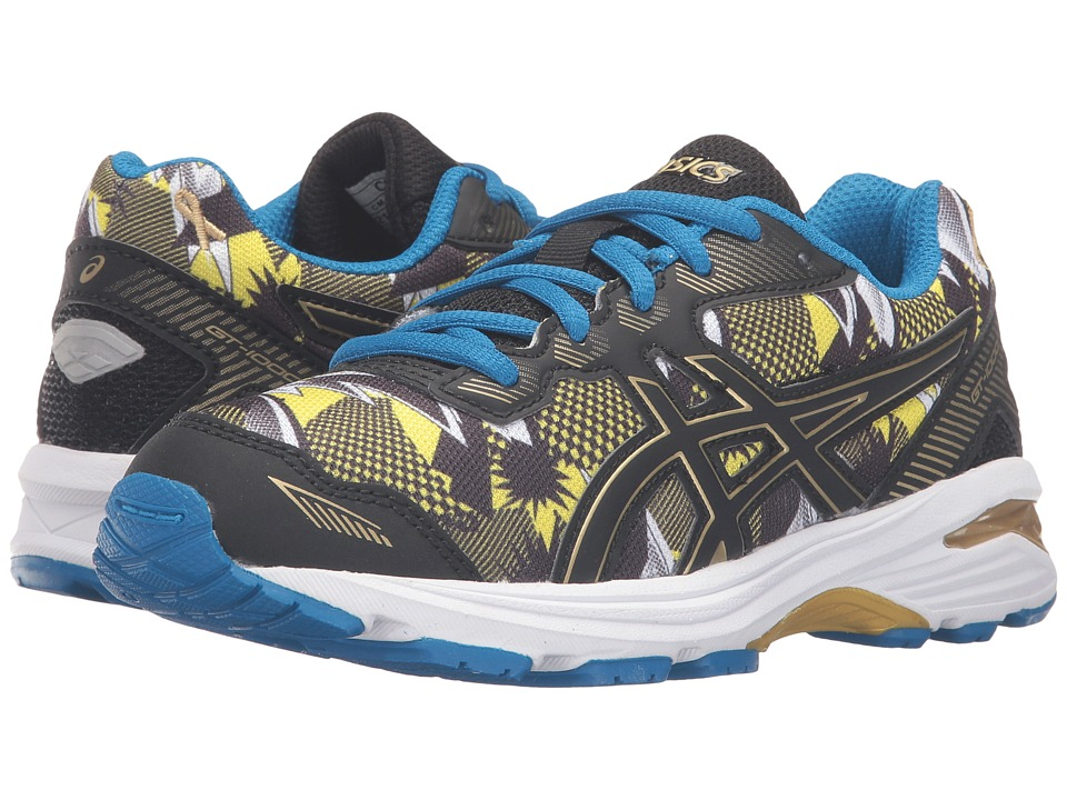 ASICS Kids GT-1000 5 GS GR (Little Kid/Big Kid) (Gold/Black/Gold Ribbon) Boys Shoes