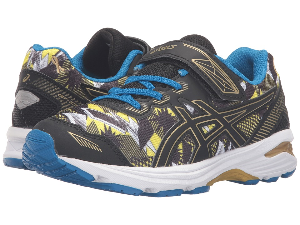 ASICS Kids - GT-1000 5 PS GR (Toddler/Little Kid) (Gold/Black/Gold Ribbon) Boys Shoes