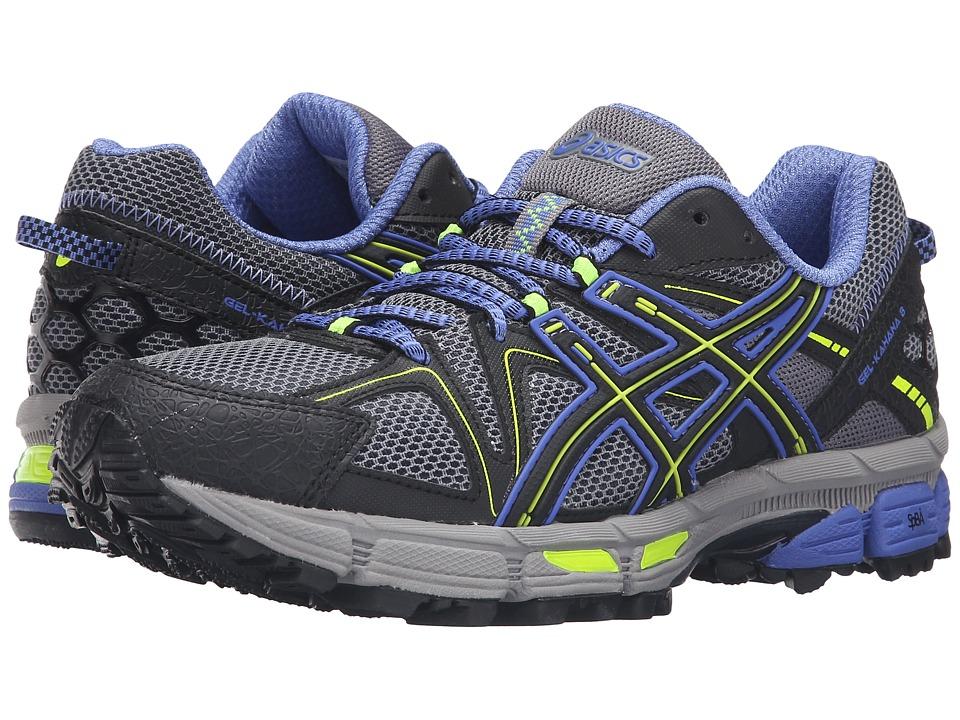ASICS - Gel-Kahana 8 (Aluminum/Black/Flash Yellow) Women's Running Shoes