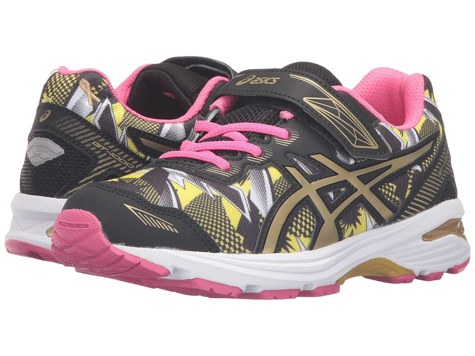 ASICS Kids - GT-1000 5 PS GR (Toddler/Little Kid) (White/Gold/Gold Ribbon) Girls Shoes