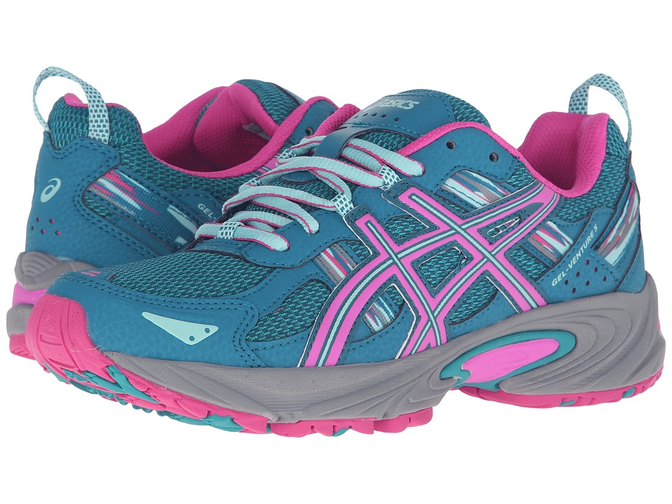 ASICS Gel-Venture 5 (Ocean Depth/Pink Glow/Aruba Blue) Women